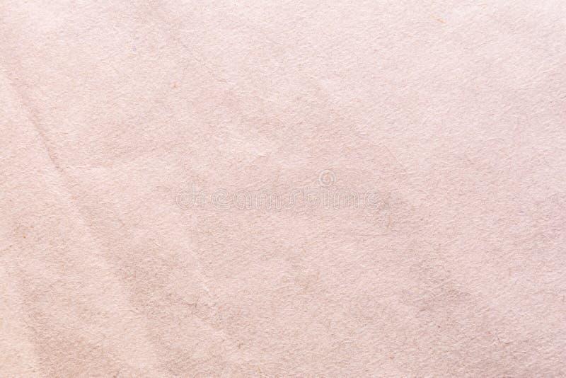 Texture de vieux papier minable et chiffonné, style de vintage, fond abstrait images libres de droits