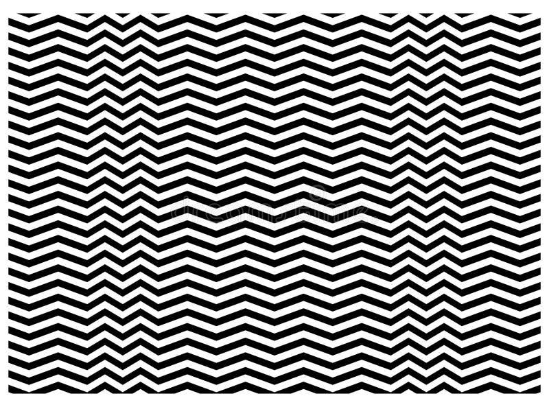 Texture de zigzag illustration de vecteur