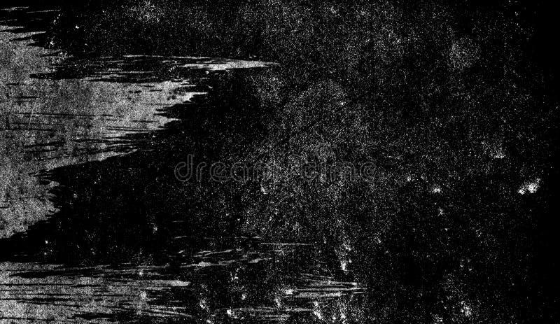 Texture des éraflures, puces, usures, saleté sur la vieille surface âgée Vieux, recouvrements d'effet de film de cru illustration libre de droits