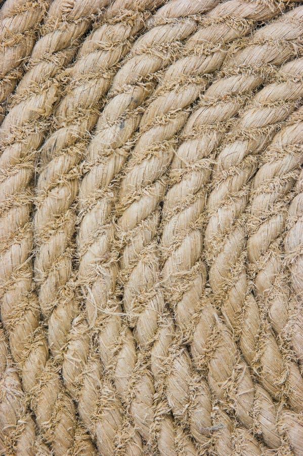 Texture des cordes photographie stock