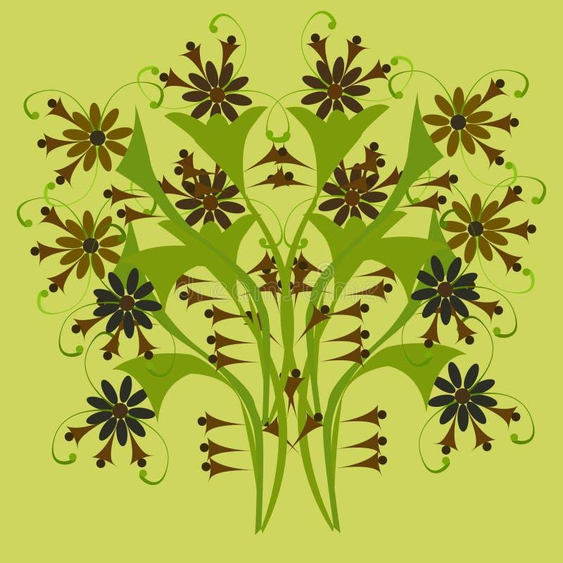 Texture des fleurs 2-01 photographie stock libre de droits