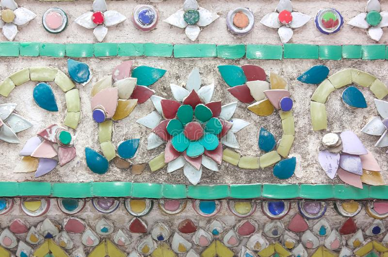 Texture des fleurs et des couleurs, turquoise, vert, rouge et rose images libres de droits