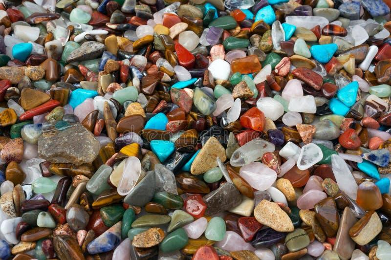 Texture des gemmes de couleur images stock