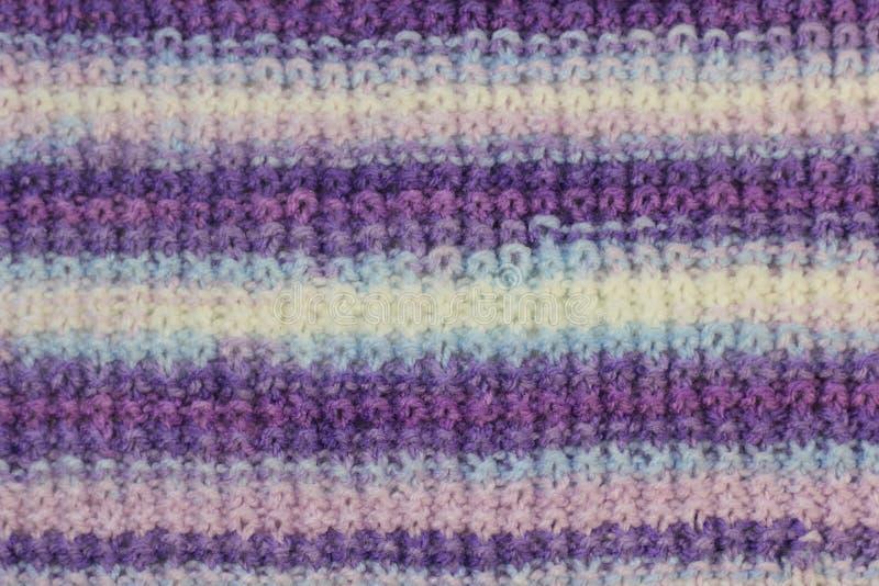 Texture des laines tricotées photos libres de droits