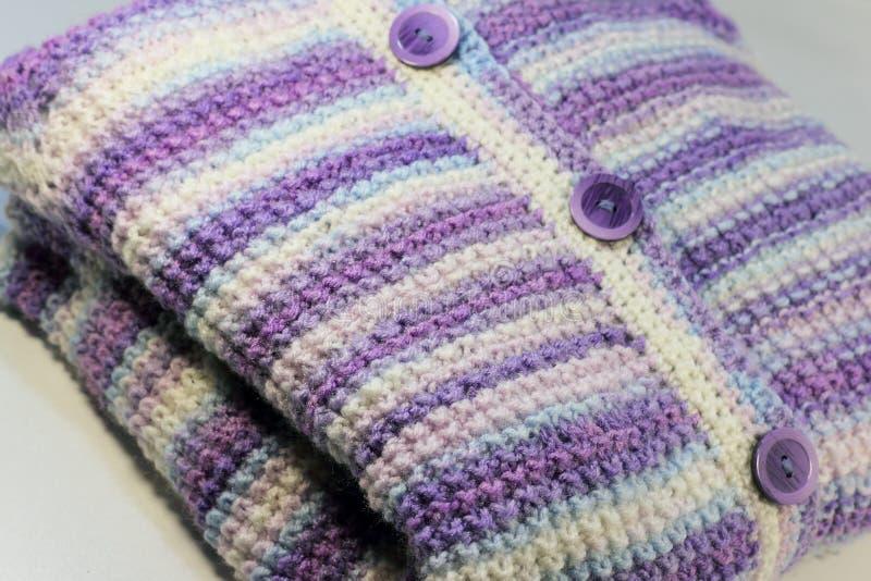 Texture des laines tricotées photo libre de droits