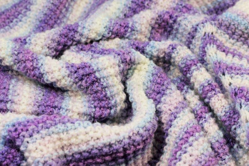 Texture des laines tricotées photographie stock