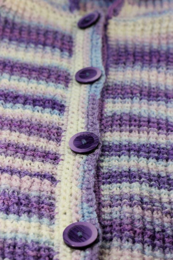 Texture des laines tricotées image libre de droits