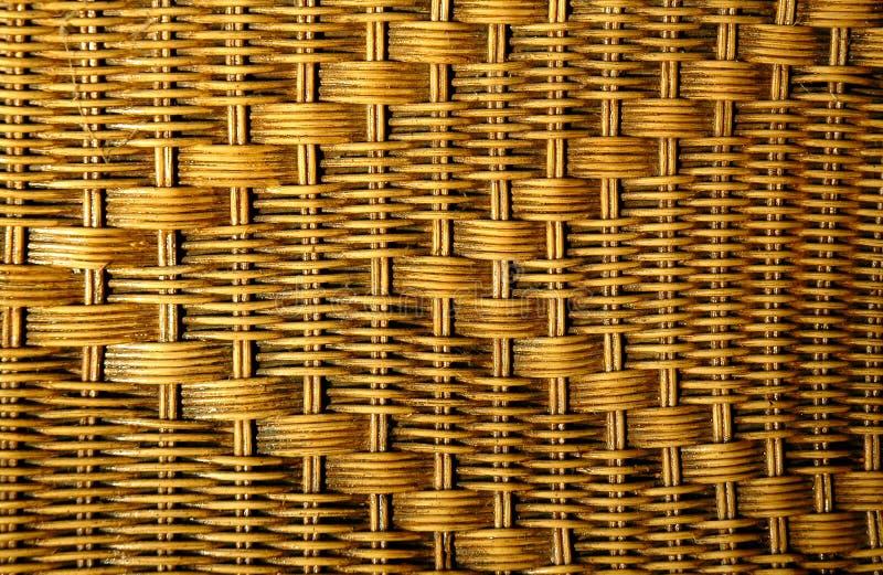 Texture des meubles de rotin photos libres de droits