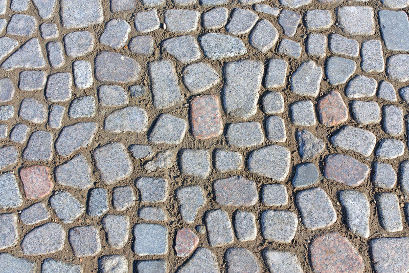 Texture des pavés photo libre de droits