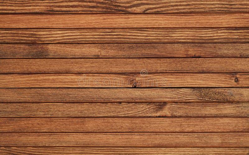 Texture des planches en bois brunes photo libre de droits