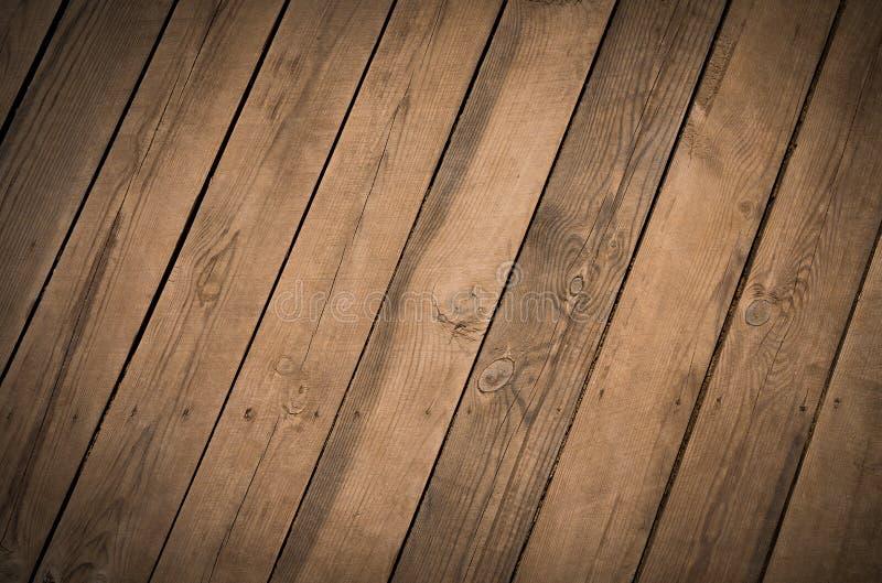 Texture des vieilles planches de bois arrière arbre naturel images libres de droits