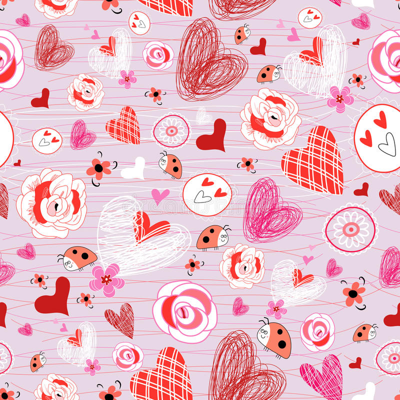 Download Texture From Different Hearts Royalty Free Stock Image - Image: 23207476