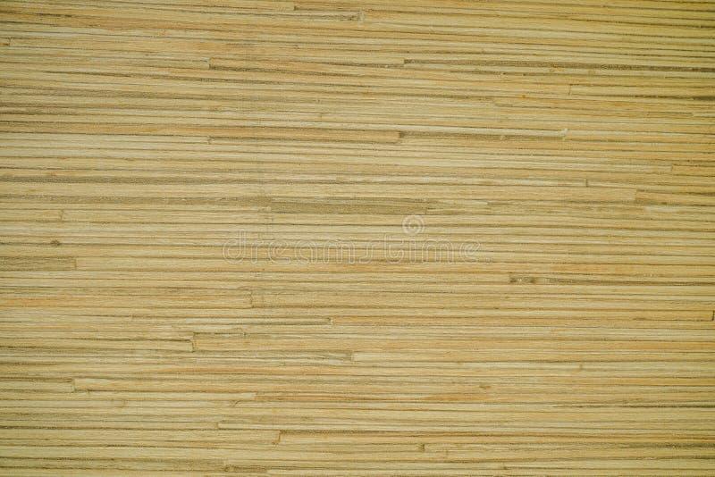 Texture du bois en bambou sur les meubles photographie stock libre de droits
