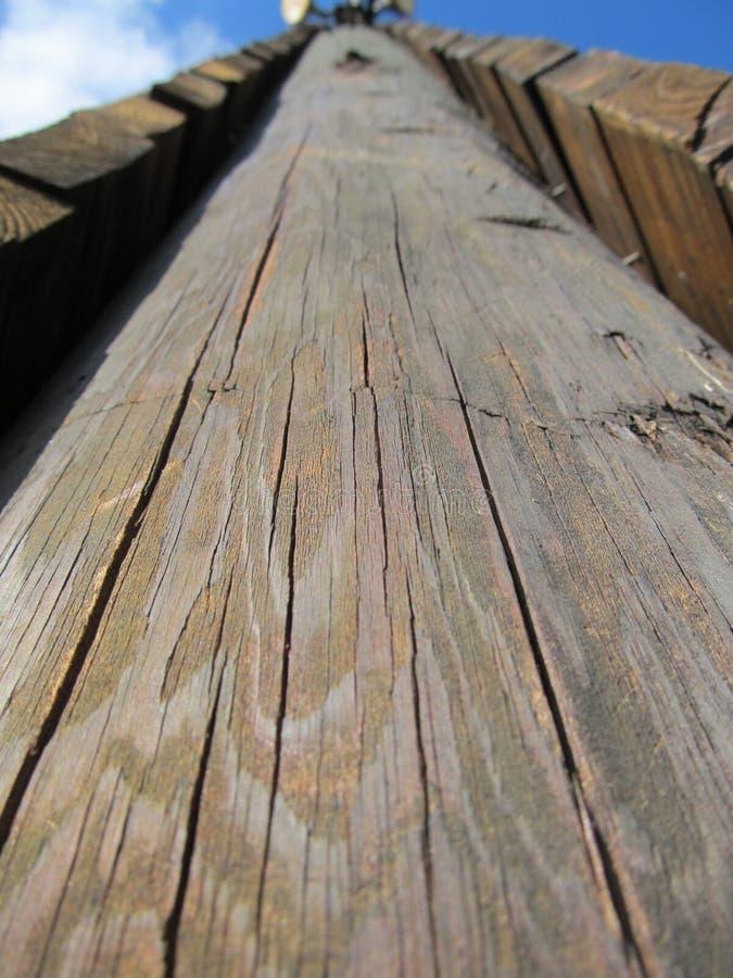 Texture du chêne Ridge Climbing Tower photos stock