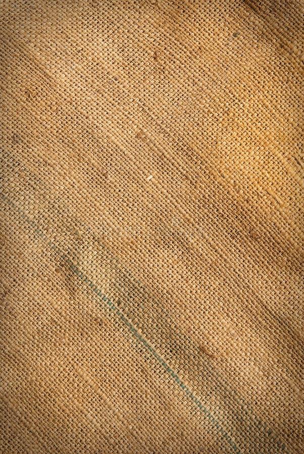 Texture du chanvre de sac images libres de droits