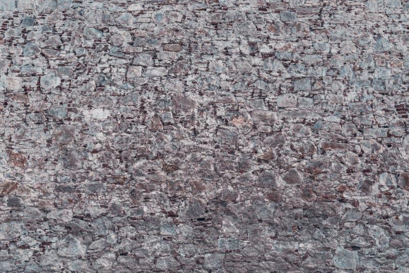 Texture du mur des pierres et des briques photographie stock libre de droits