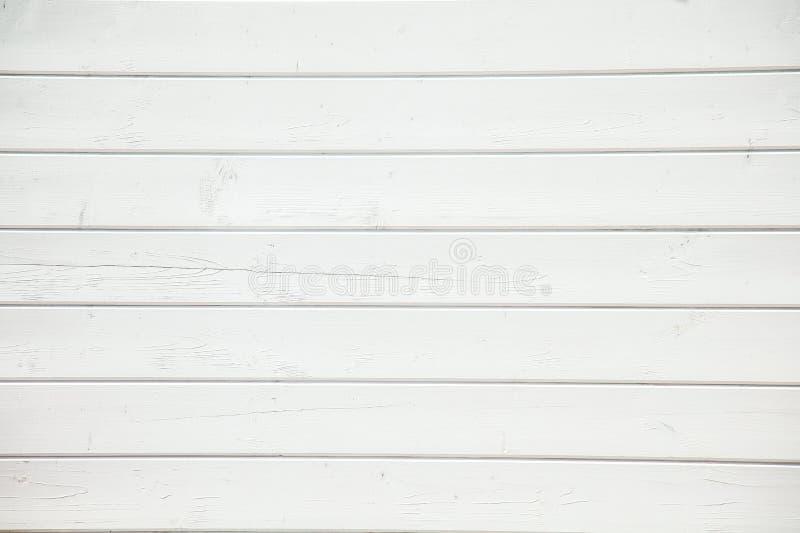 Texture du mur en bois blanc, fond photo libre de droits