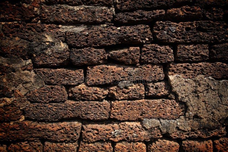 Texture du mur en pierre de latérite photos libres de droits