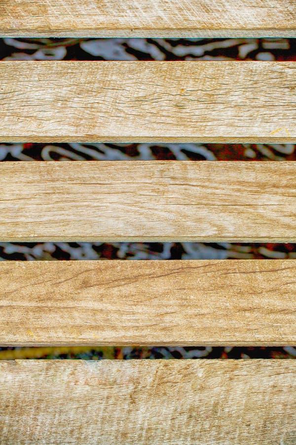 Texture du plan rapproché en bois de fond de latte de vintage Vieux murs en bois Bois cru images libres de droits