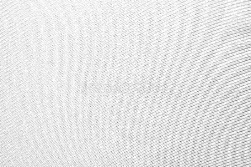 Texture du textile tissé blanc images libres de droits