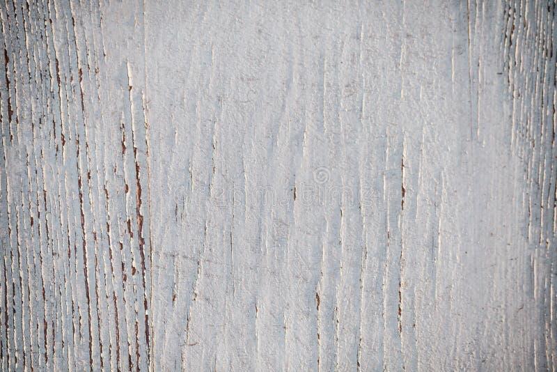 Texture du vieux mur en bois peint en peinture blanche, b lumineux photo libre de droits