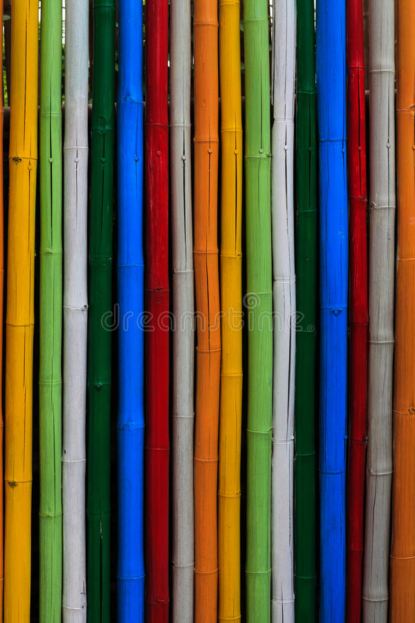 Texture of dyed bamboo sticks. Abstract texture of dyed bamboo sticks royalty free stock images