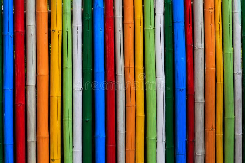 Texture of dyed bamboo sticks. Abstract texture of dyed bamboo sticks royalty free stock photos