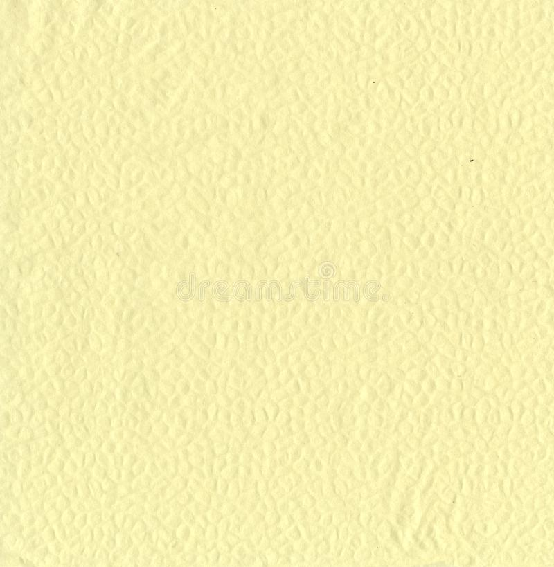 Texture - embossed soft yellow toilet paper stock photos