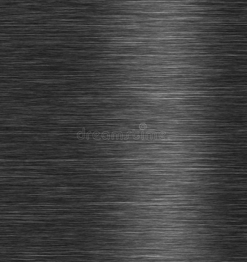 Texture en acier balayée en métal illustration libre de droits