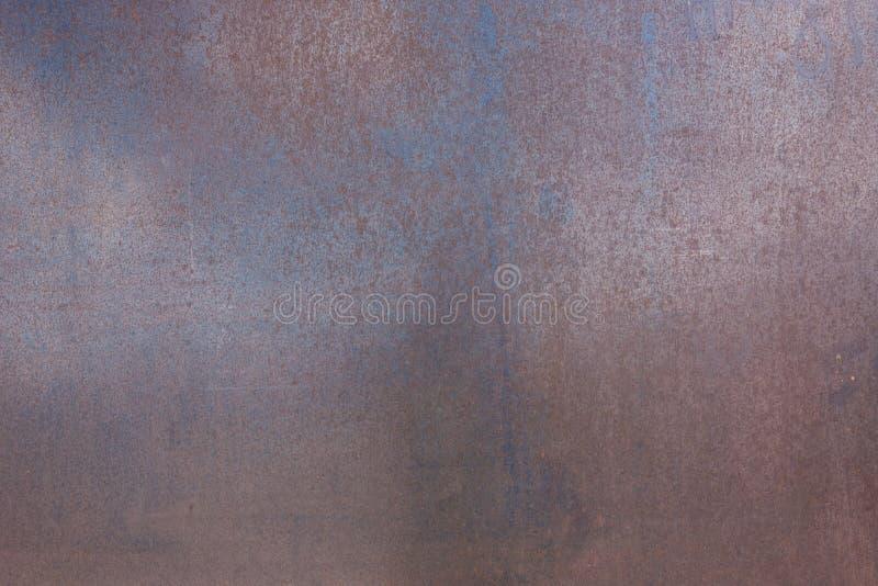Texture en acier rouillée de panneau photographie stock libre de droits