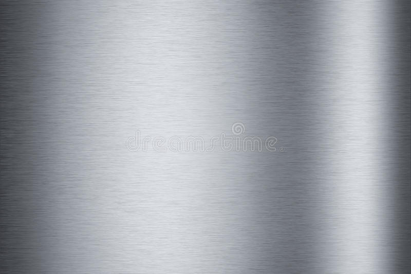 Texture en aluminium balayée
