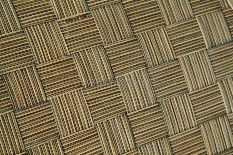 Texture en bambou abstraite images stock