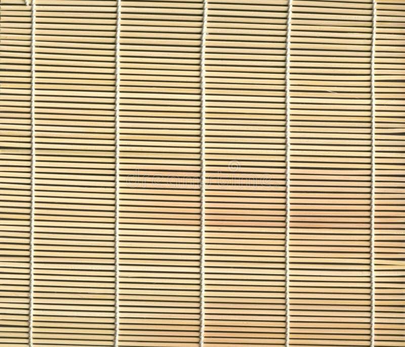 Texture en bambou de couvre-tapis photos stock