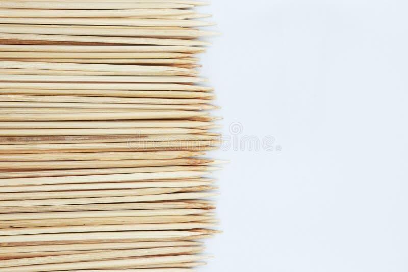 Texture en bambou pointue de fond de bâton images stock