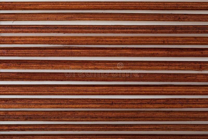 Texture en bambou rougeâtre foncée images libres de droits
