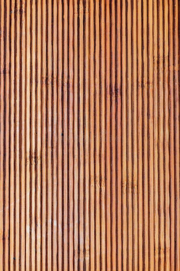 Texture en bambou rustique Lignes horizontales et verticales photographie stock