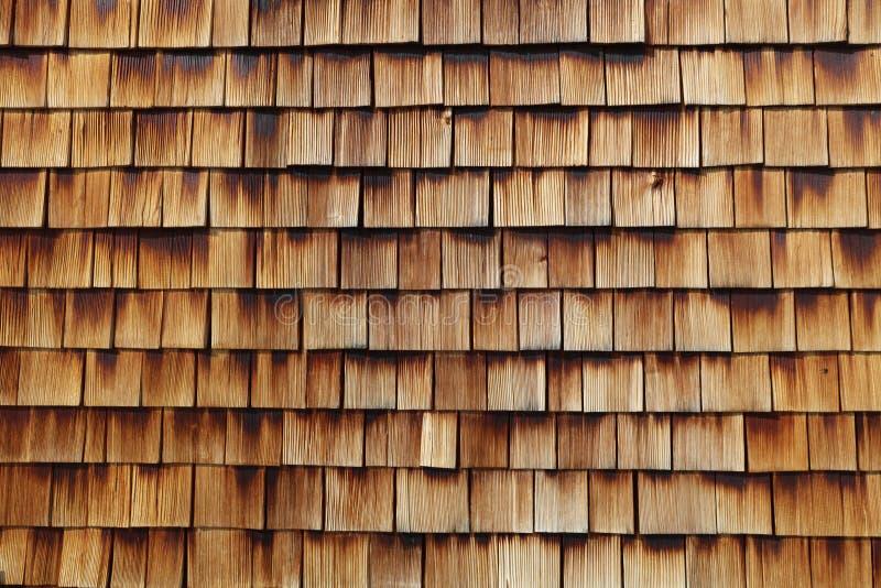 Texture en bois abstraite des bardeaux de cèdre photo libre de droits