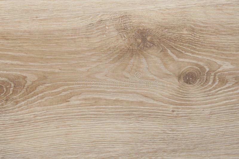Texture en bois avec le modèle naturel, plancher en stratifié utilisé photographie stock