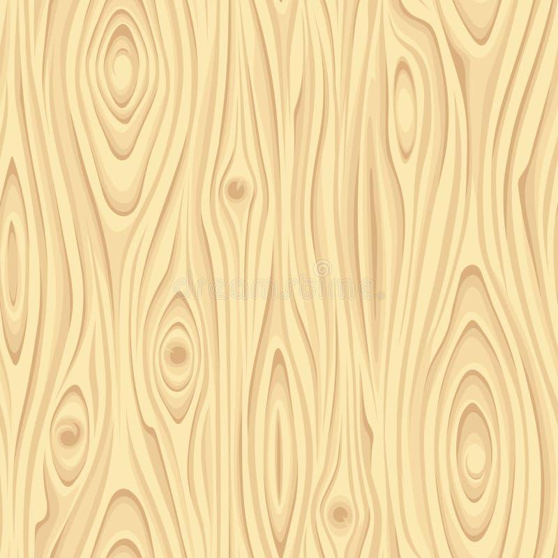 Texture en bois beige sans couture Illustration de vecteur illustration de vecteur