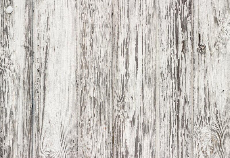 Texture en bois blanche avec le fond naturel de modèles photos libres de droits