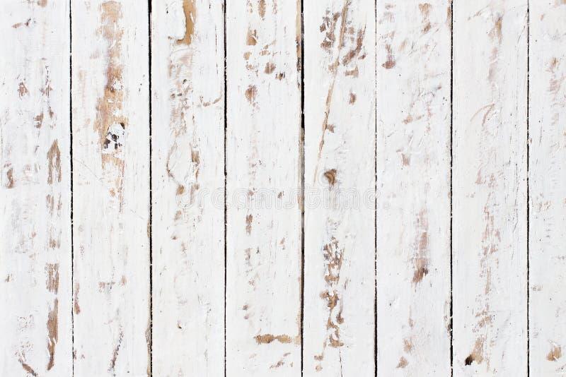 Texture en bois blanche de fond photos stock