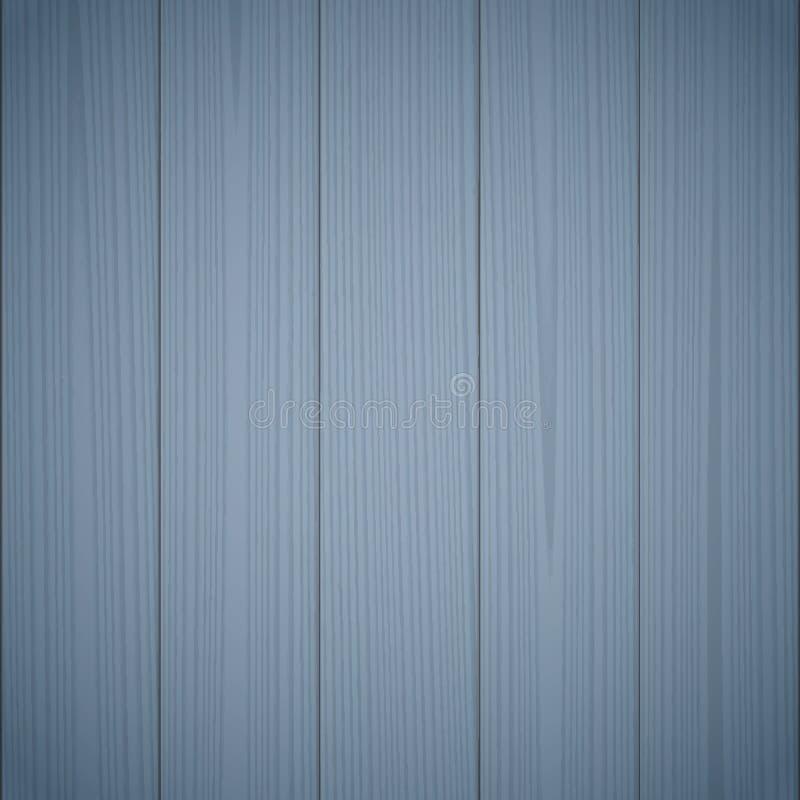 Texture en bois bleu-foncé illustration de vecteur