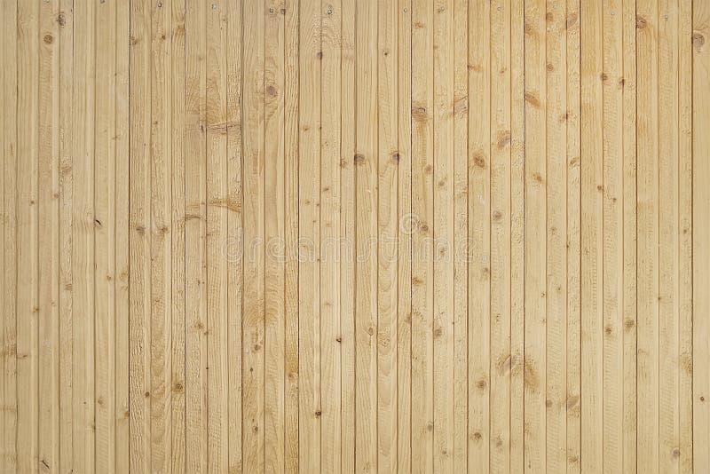Texture en bois brun clair de fond de mur image libre de droits