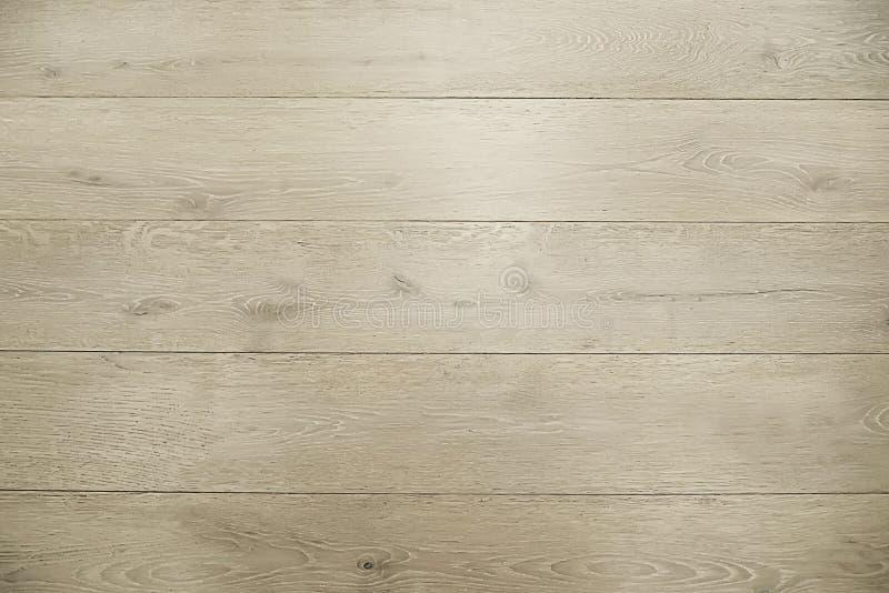 Texture en bois brun clair de fond de plancher photographie stock