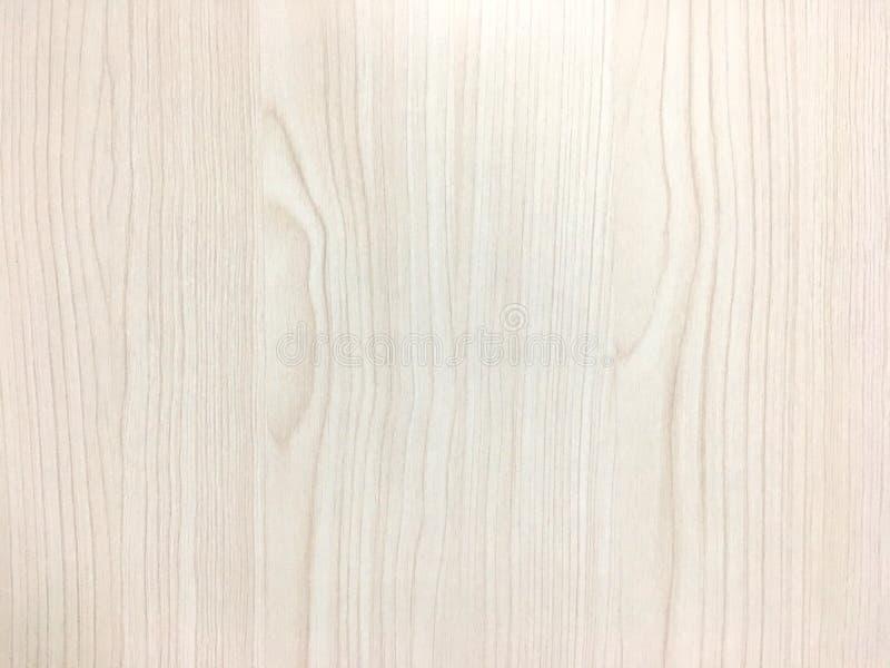 Texture en bois brun clair sur le mur Fond abstrait de modèle images stock
