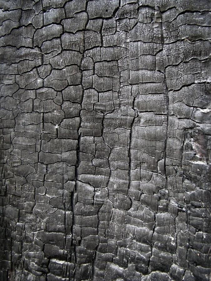 Texture en bois carbonisée photos stock