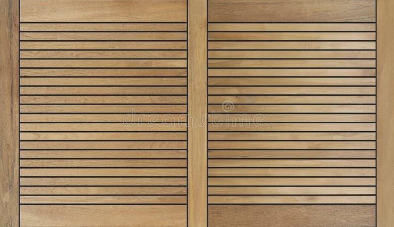 Texture en bois décorative de fond de conception de teck images libres de droits