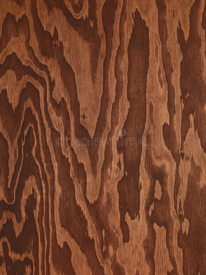 Texture en bois d'abrégé sur contreplaqué de Brown photographie stock libre de droits