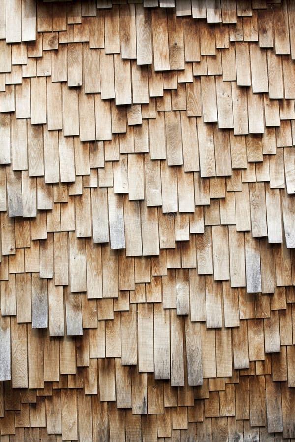 Texture en bois de bardeaux photos libres de droits