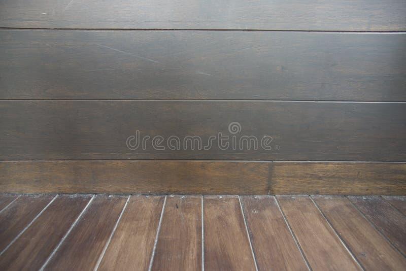 Texture en bois de Brown Fond abstrait, calibre vide pour la copie photo stock